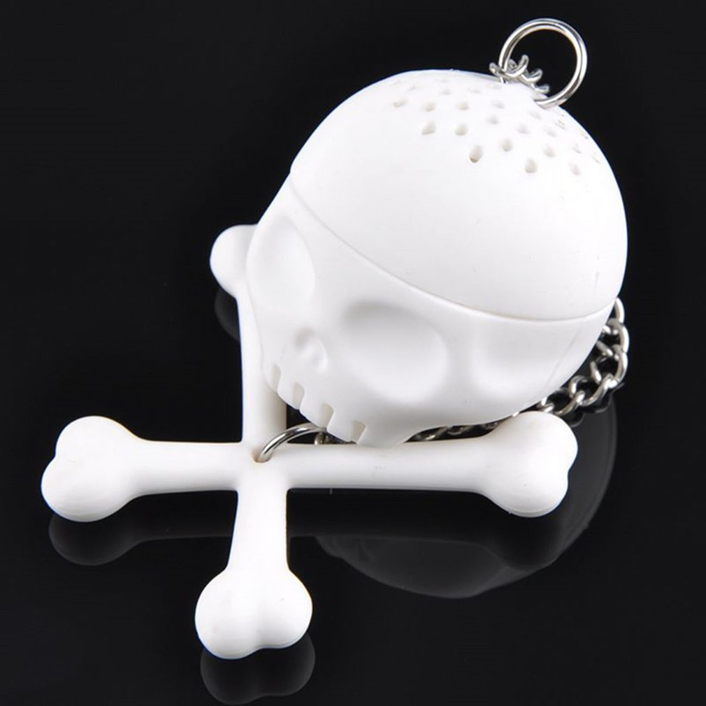 Shape Tea Strainer Silicone Interesting Tea Infuser Filter Teapot For Tea Coffee Drinkware
