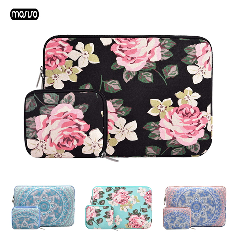 2019 MOSISO Laptop Sleeve Case 11 12 13 14 15 15.6 inch Bag For MacBook Air Pro 13.3 15.4 Notebook Cover