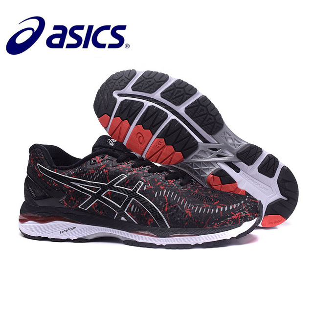 111f19a7f00a 2018 Original ASICS GEL-KAYANO Night Running Athletic Men Shoes Unisex  40-45 Size Sport Shoes Men Running Shoes Sneakers Men
