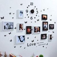 עיצוב הבית אירופאי אהבת חתונה קישוט קיר מסגרת תמונה סט מסגרת תמונה עבור מסגרת תמונה מדבקות קיר סט ארגונית