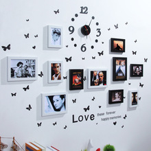 European Home Design Wedding Love Photo Frame Wall Decoration Picture Set for stickers organizer