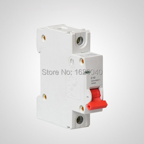 1Pole 10A Automatic switch Air Switch Circuit Breaker for the lighting circuit-in Circuit Breakers from Home Improvement on Aliexpress.com | Alibaba Group  sc 1 st  AliExpress.com & 1Pole 10A Automatic switch Air Switch Circuit Breaker for the ... azcodes.com