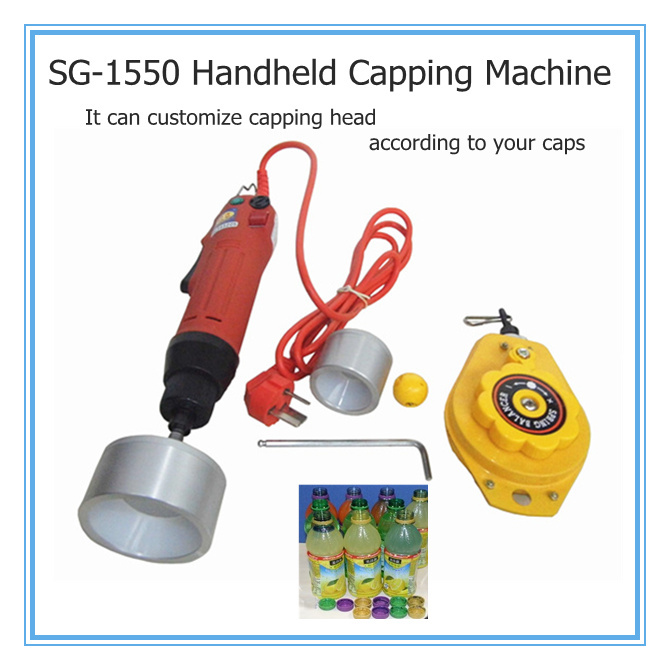 Free Shipping,100% New Hand Held Bottle capping machine,easy operation screw capper,cap sealing machine 10-50mm free shipping new manual electric capping machine screw capper plastic bottle capping machine for special cap