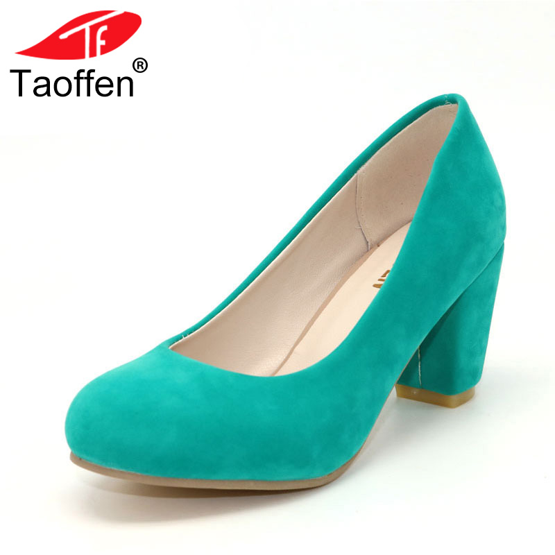 TAOFFEN free shipping high heel shoes women sexy dress footwear fashion lady female pumps P12401 hot sale EUR size 31-43 free shipping high heel wedge shoes women sexy dress footwear fashion pumps p10767 eur size 34 43
