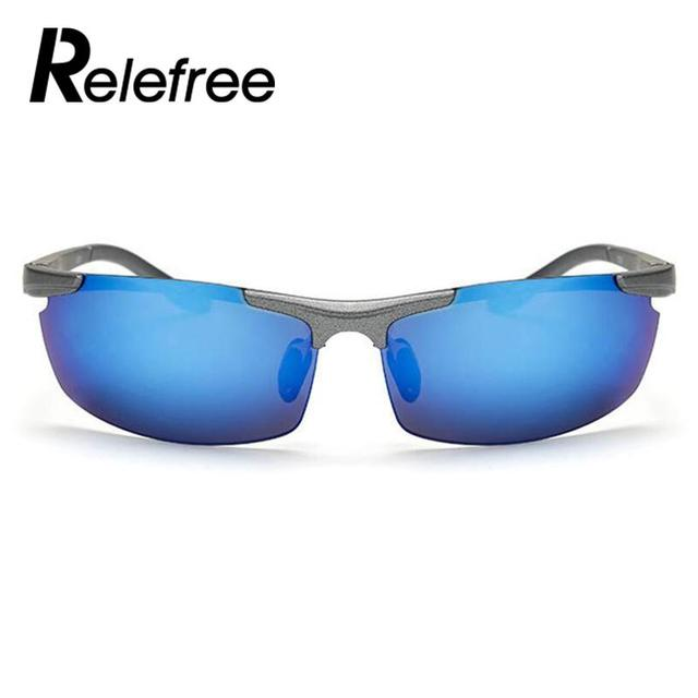 Relefree Brand Designer Cycling Glasses UV400 Polarized Bicycle Sunglasses Eyewear MTB Bike Motorcycle Sport Eyewear Goggles