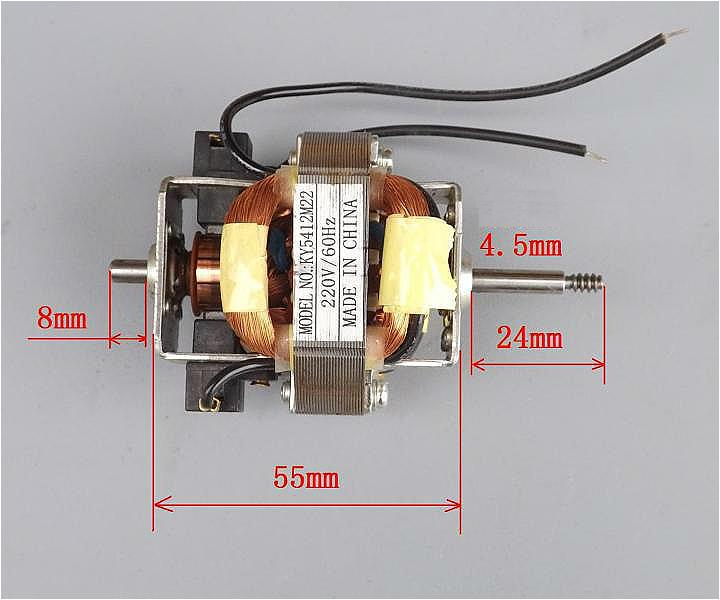 Free shipping 220v ac motor dc motor blowing machine motor for Ac electric motor repair