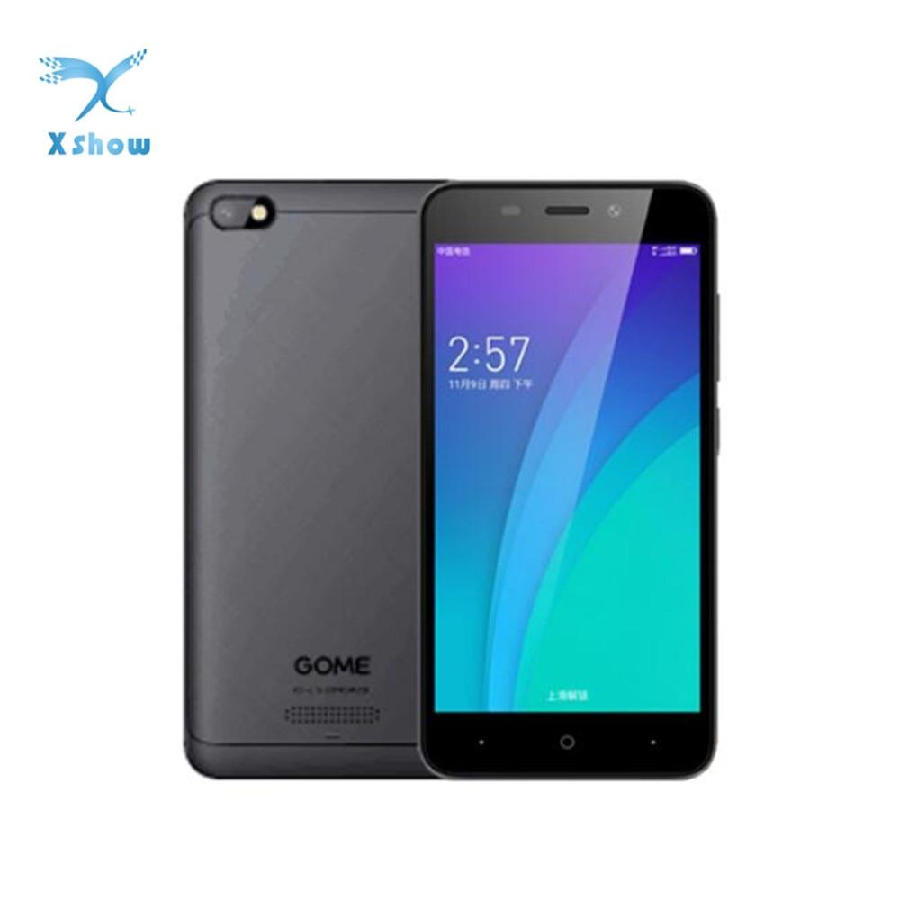"Leuk Originele Gome C51 4g Lte Smartphone 2g Ram 16g Rom 5.0 ""1280x720 Msm8909 Quad Core 5.0mp + 2.0mp Android 7.1 2000 Mah Mobiele Telefoons Om Jarenlange Probleemloze Service Te Garanderen"