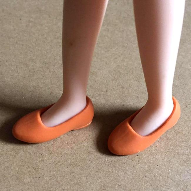 1 Pairs Новое Прибытие кукла обувь Симпатичный Мини 1/6 Квартиры Кукла Обувь для Блит Момоко, Licca, О. Б., Azone Кукла девушки toys