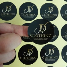 Stickers Circle Label Custom-Logo Personalized Wedding-Collection Round Vintage 40MM