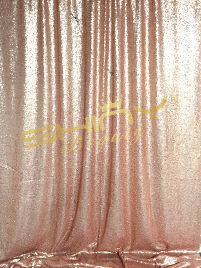 Color booth online - Blush Sequin Photography Backdrop 8ftx8ft Photo Booth For Wedding Party Best Decoration Blush Color