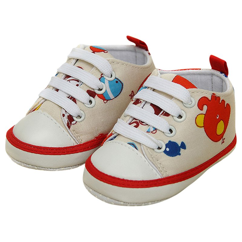 Baby Toddler First Walkers Soft Sole Kids Shoes Newborn Boys Infant Shose 0-18 M ...