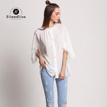 White Blouse Shirt Women Vintage 2017 High Quality Brand Luxury Blouse Shirt