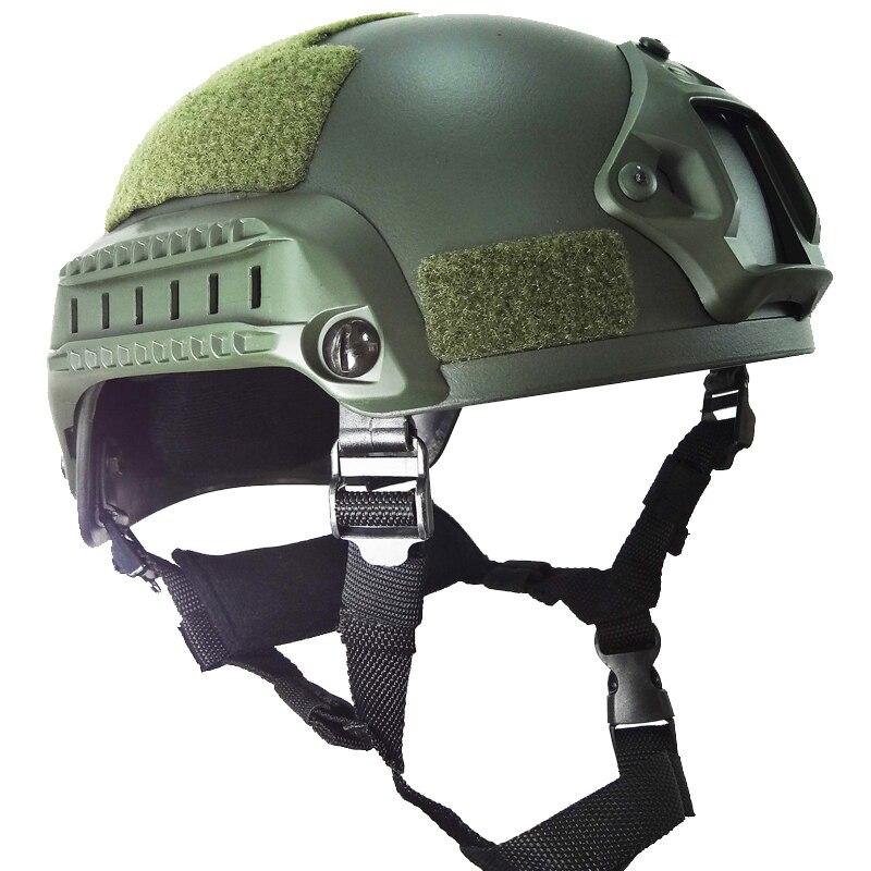 Military Mich 2001 Airsoft Helmet тактикалық - Спорттық киім мен керек-жарақтар - фото 2