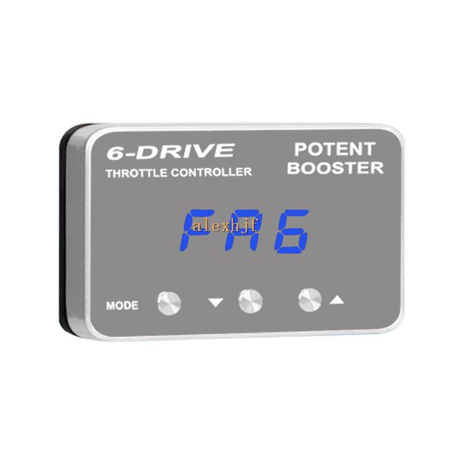 TROS Booster Potente II 6 Drive Controller Electrónico Del Acelerador, Ultra-delgado, TS-100 para Land Rover FREELANDER 2006 ~ EN