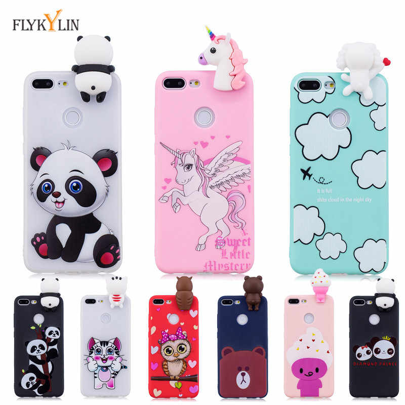 Silicone Case on For Coque Huawei Honor 9 Lite Case Back Cover For ...