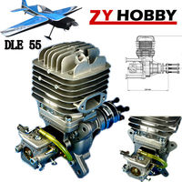 NEW DLE Engine DLE55 55cc Gasoline Engine For RC Airplane