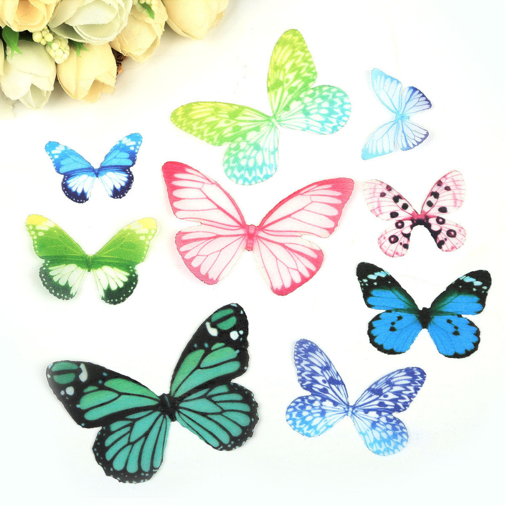 Charm-Pendant Jewelry-Accessories Necklace Bracelet Handmade Butterfly 10pcs for Making
