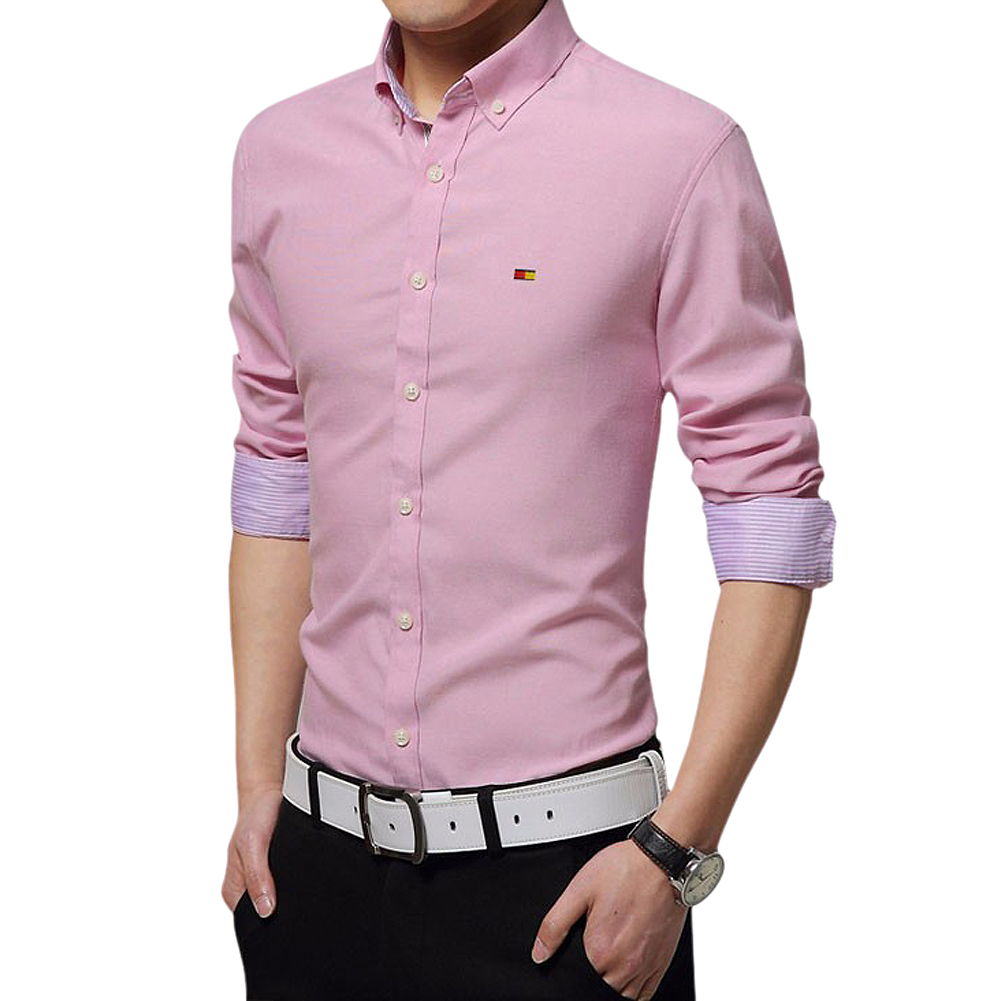 Popular Mens Dress Shirt Pink-Buy Cheap Mens Dress Shirt Pink lots ...