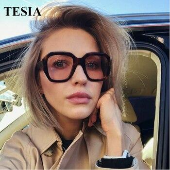 2019 Big Frame Vintage Polygonal Sunglasses Brand Designer Irregular Large Sun Glasses For Women Retro Eyewear Zonnebril Dames stylish irregular alloy frame silver sunglasses for women
