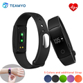 Smartband Teamyo ID107 Banda Inteligente Bluetooth Monitor de Ritmo Cardíaco Activamente Gimnasio Rastreador Sleep Smart Pulsera ID 107 PK I5 Más