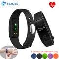 Teamyo ID107 Banda Inteligente Smartband Ativamente Sono Rastreador de Fitness Monitor de Freqüência Cardíaca Do Bluetooth Inteligente Pulseira ID 107 PK I5 Mais