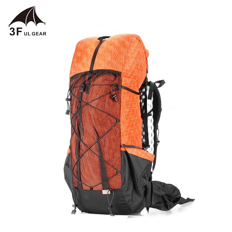 3F UL equipo resistente al agua senderismo mochila ligero Camping Pack viaje montañismo mochila senderismo mochilas 40 + 16L - 3