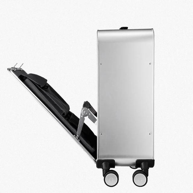 20″24″inch 100% Aluminum Alloy Business Travel Malas de viagem com rodinhas TSA Lock Cabin Trolley Suitcase Carry on Luggage