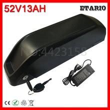 52 в 1000 Вт Hailong E-Bike аккумулятор 52 в 13Ah электрический велосипедный Аккумулятор для Bafang 48 в 1000 Вт BBSHD BBS03 750 Вт 500 Вт BBS02 мотор