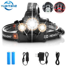 30000 Lumens LED Headlight LED 3*T6 Headlamp Head Lamp Fishing lighting bicycle Light Flashlight Torch Lantern For Camping light цена в Москве и Питере