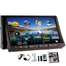 "Latest 7"" Double 2din HD Digital Touch Screen Car DVD Audio Player In-Dash built-in bluetooth Car Stereo MP3  FM AM RDS Radio"