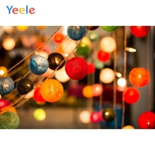 Yeele Christmas Photocall Party Bokeh Lights Decor Photography Backdrops Personalized Photographic Backgrounds For Photo Studio