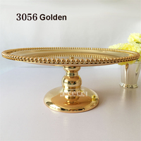 New European Style Cake Rack Silver Plated Metal Fruit Plate Creative Dessert Plate Party Supplies Home Decoration Dessert Tray