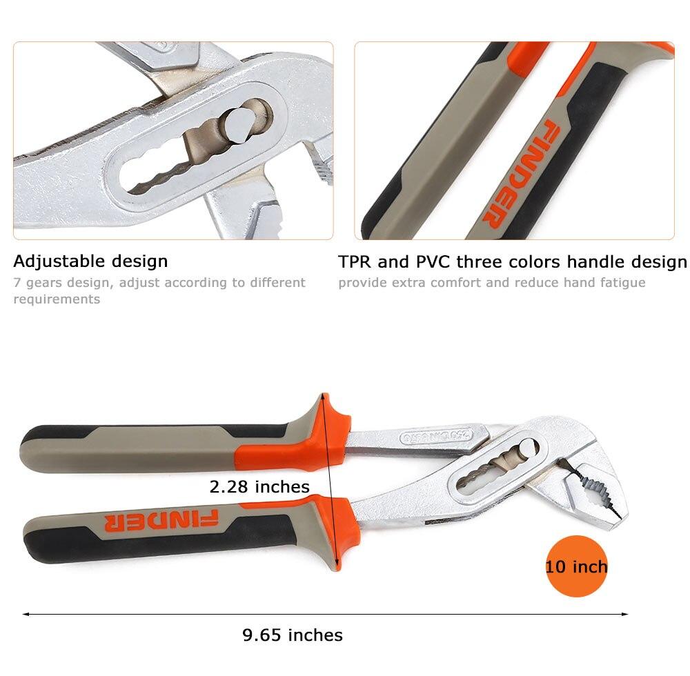 Finder 95 Inch Multifungsi Pompa Air Tang Kombinasi Alat Kunci Pas 8 Getsubject Aeproduct
