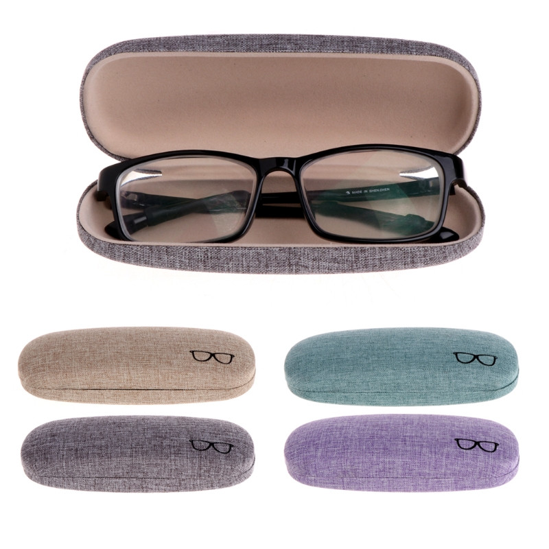 Eyewear Accessories Apparel Accessories 4 Colors 1 Pc Available Hard Glasses Case Protable Glasses Case Metal Eyeglass Sunglasses Protector Hard Box Eyewear Accessories Yet Not Vulgar