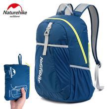 Naturehike folding sport backpack men women outdoor bags waterproof light Tourist camping hiking mountaineering bag