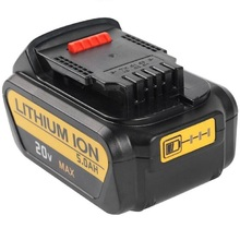 20V 5000mAh Li-ion Power Tools replacement Battery for Dewalt DCB200 DCB204-2 DCB180 DCB181 DCB182 DCB203 DCB201 DCB201-2 DCD740 high quality 20v 4000mah power tools batteries for dewalt dcb181 dcb182 dcd780 dcd785 dcd795 charger usb power source
