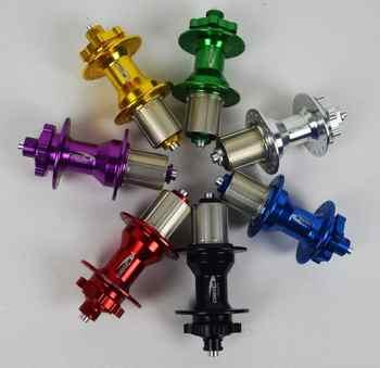 CHOSEN bike Hub Bearing Spacer Quick Release Hubs MTB AL A4581B/A4587B Qiaoshen 2/4 28/32 hole 28h 32h Mountain Bike