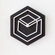 Artistic Pine Wood font b Wall b font font b Clock b font Unique Modern Minimalist