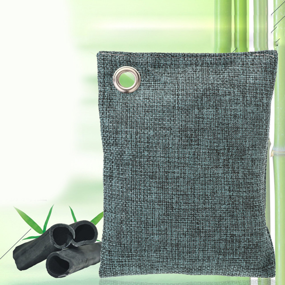 New Hot Home Room Air Purifying Hanging Bag Fresh Active Bamboo Charcoal Carbon Bags Mold Odour Remove