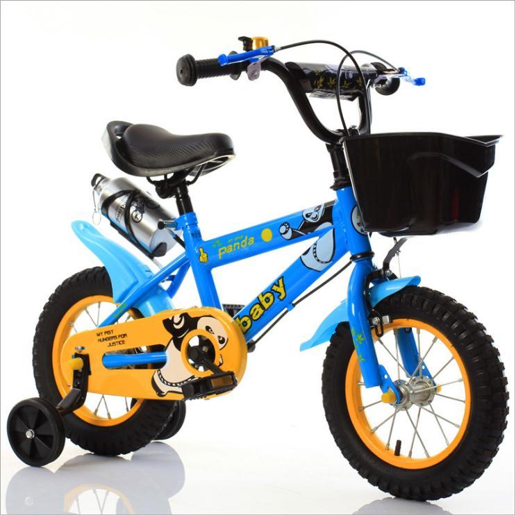 Детский велосипед 12 дюймов 14 дюймов 16 дюймов велосипед детская коляска велосипед для детей четыре колеса велосипед 3 8 лет - 3