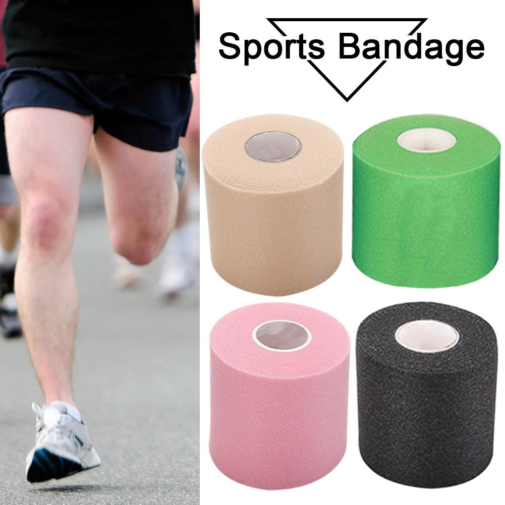 7cm*27.5m Sports Foam Backing Bandage Wrapping Tape Soft Touching Adjustable Tightening Force All Parts Of The Body