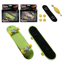 High Quality Cute Party Favor Kids children Mini Finger Board Fingerboard Alloy Skate Boarding Toys Gift dropshipping