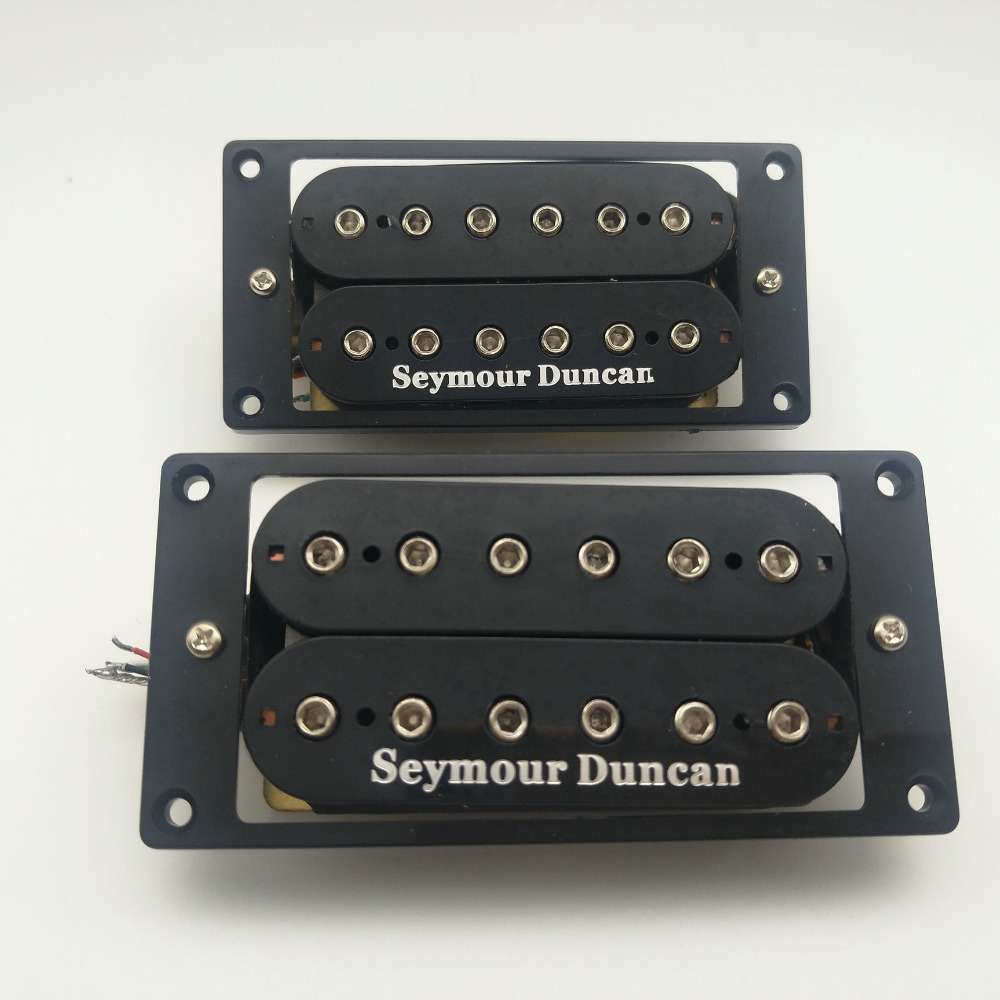 Emg 81 85 Active Pickup Electric Guitar Pickups With 25k Humbucker Set Black Seymour Duncan Neck And Bridge