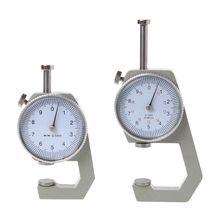 Циферблат Толщиномер 10 20 мм кожа бумага Толщина метр тестер точность 0,1 мм
