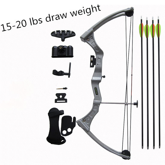Compound bow M110 compound bow kit,youth bow for for shooting with arrow set 54 youth bow