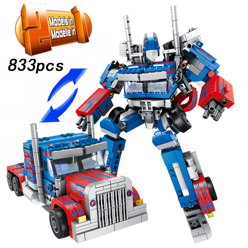 legoings Transform Robot Car 2in1 Bricks City Building Blocks Sets Creator Educational Technic DIY Technician Toys For Childrenlegoings Transform Robot Car 2in1 Bricks City Building Blocks Sets Creator Educational Technic DIY Technician Toys For Children