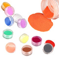12 Colors Acrylic Carving Powder Dust UV Gel Design 3D Tips Decoration Manicure Nail Art Dropship