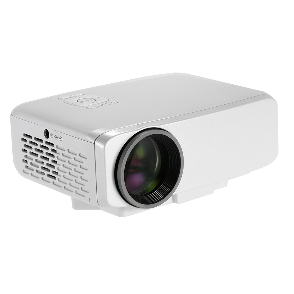 GP9S mini micro projector for home cinema 800luminous proyector supports 1920*1080 full HD video LED projector for home theater