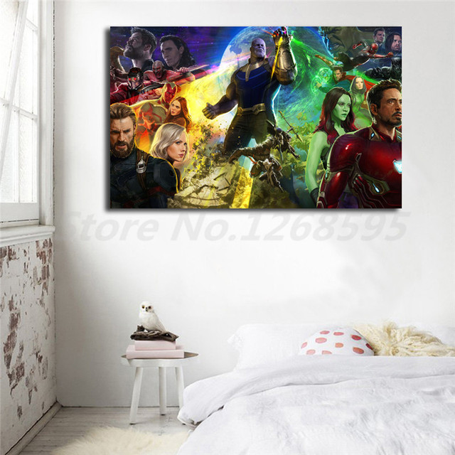 Marvel Avengers Infinity War HD Wallpaper Wall Art Canvas Posters ...