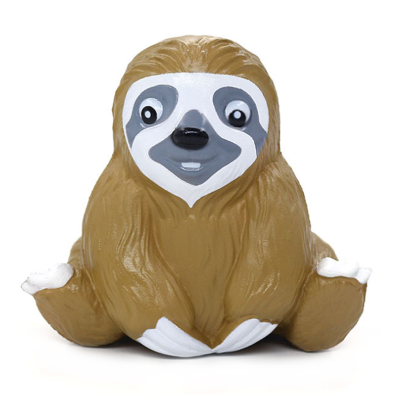 New Jumbo Kawaii Sloth Squishy Cartoon Doll Simulated Animal Bread Scented Slow Rising Anti Stress Squeeze Toy Fun For Kid Gift